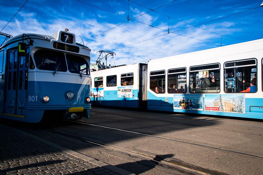 瑞典第二大城哥特堡交通街景。圖片來源:Maria Eklind (CC BY-SA 2.0)
