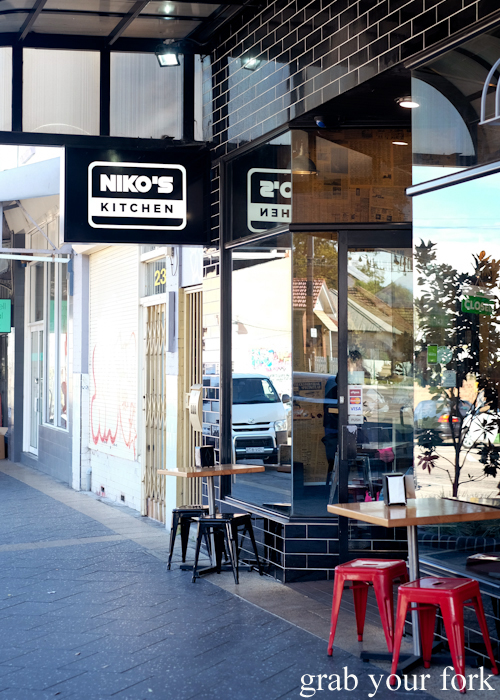 Entrance to Niko's Kitchen in Dulwich Hill