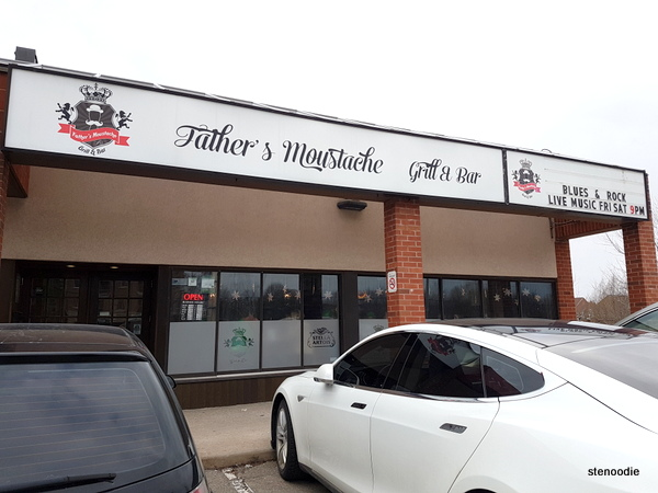 Father's Moustache Grill & Bar storefront