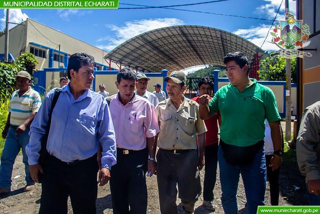 Alcalde de Echarati reafirma su compromiso de trabajo por Kepashiato
