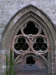20080516 23637 0906 Jakobus Montbrison Kirche Fenster Dreifaltigkeit Bogen - Photo of Essertines-en-Châtelneuf