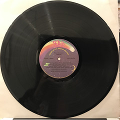 SHALAMAR:THREE FOR LOVE(RECORD SIDE-A)