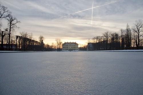 Spiegelteich im Winter