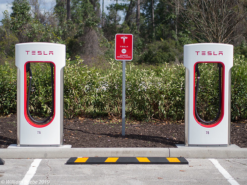 Tesla Chargers Front