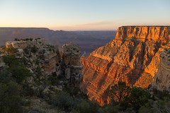 Sunset Light into the Canyon