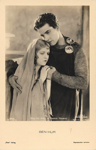 Ramon Novarro and May McAvoy in Ben-Hur (1925)