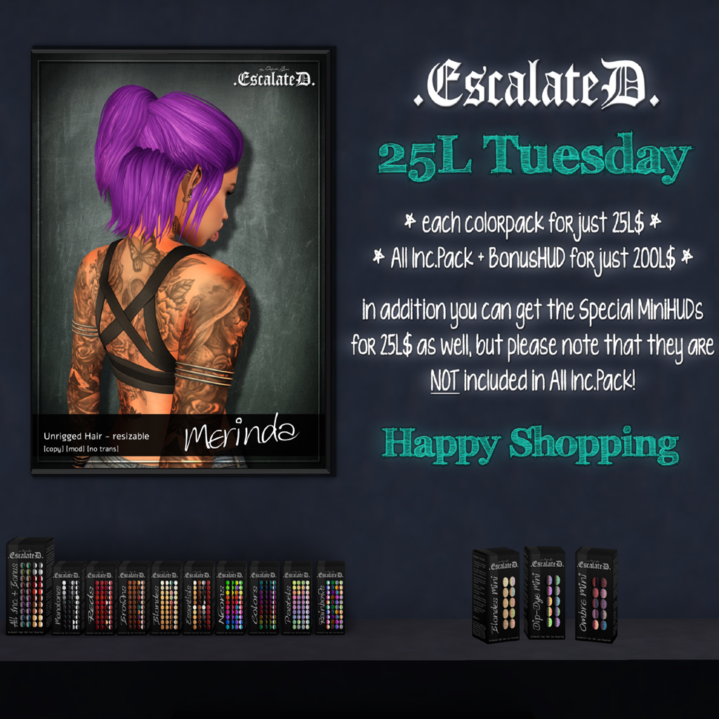 .EscalateD | 25LTuesday | 05.Mar.19