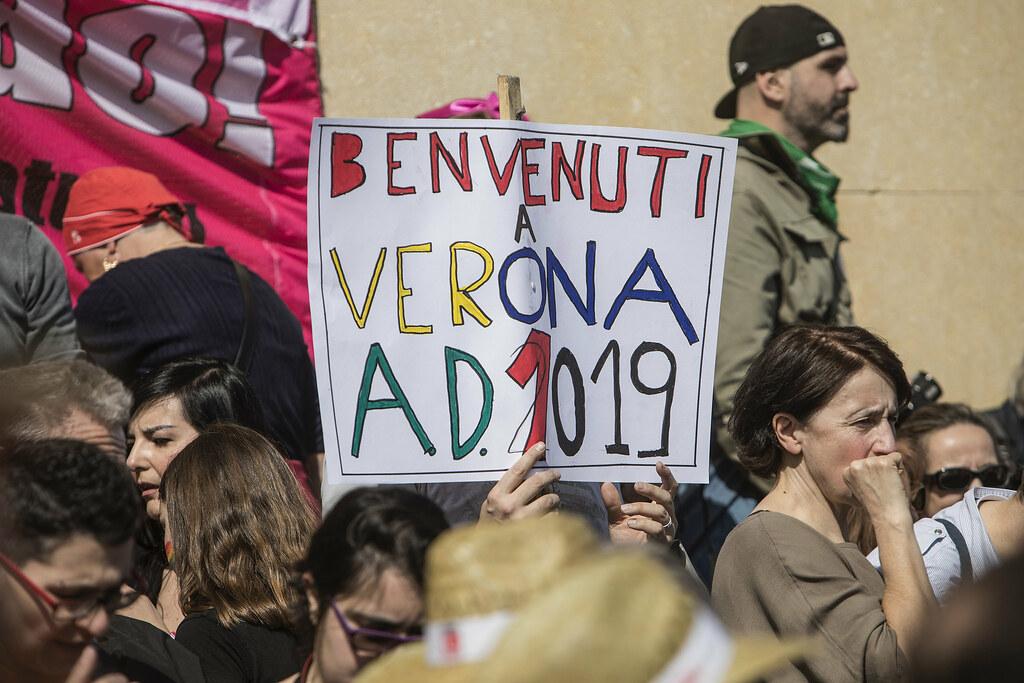 Manifestazione nazionale 'Verona libera, Italia Laica'