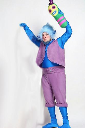 Мужской карнавальный костюм Тролль