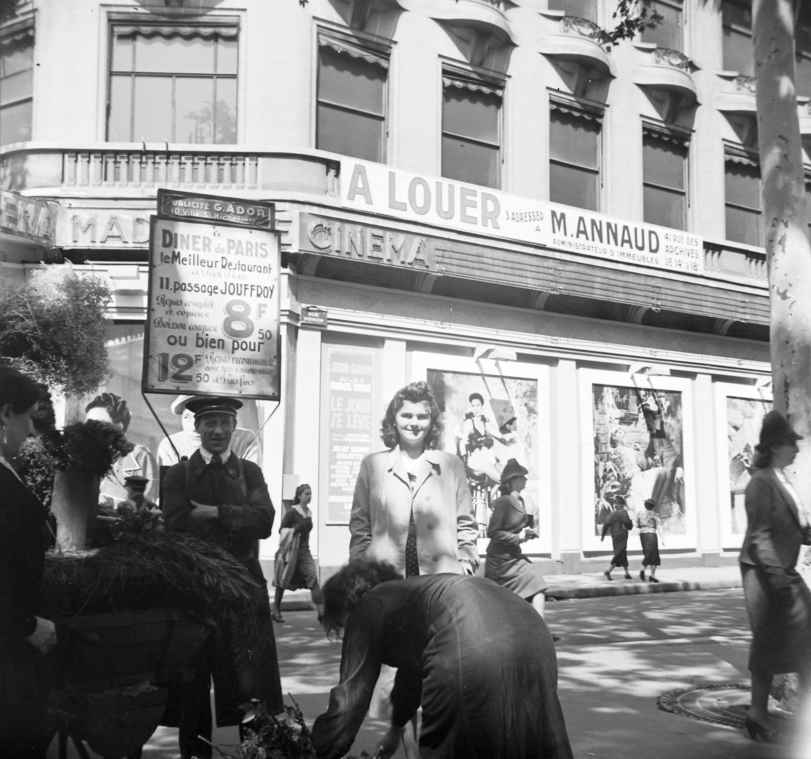 1939. Улица Виньон