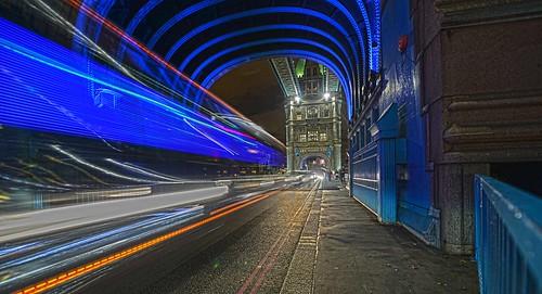 Blue Blur Tower Bridge London DSC_2849