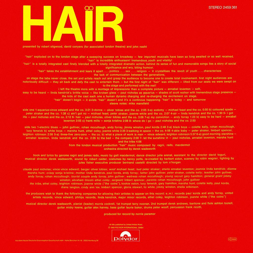 Galt MacDermot - Hair