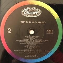 THE B. B. & Q. BAND:KEEP IT HOT(LABEL SIDE-B)