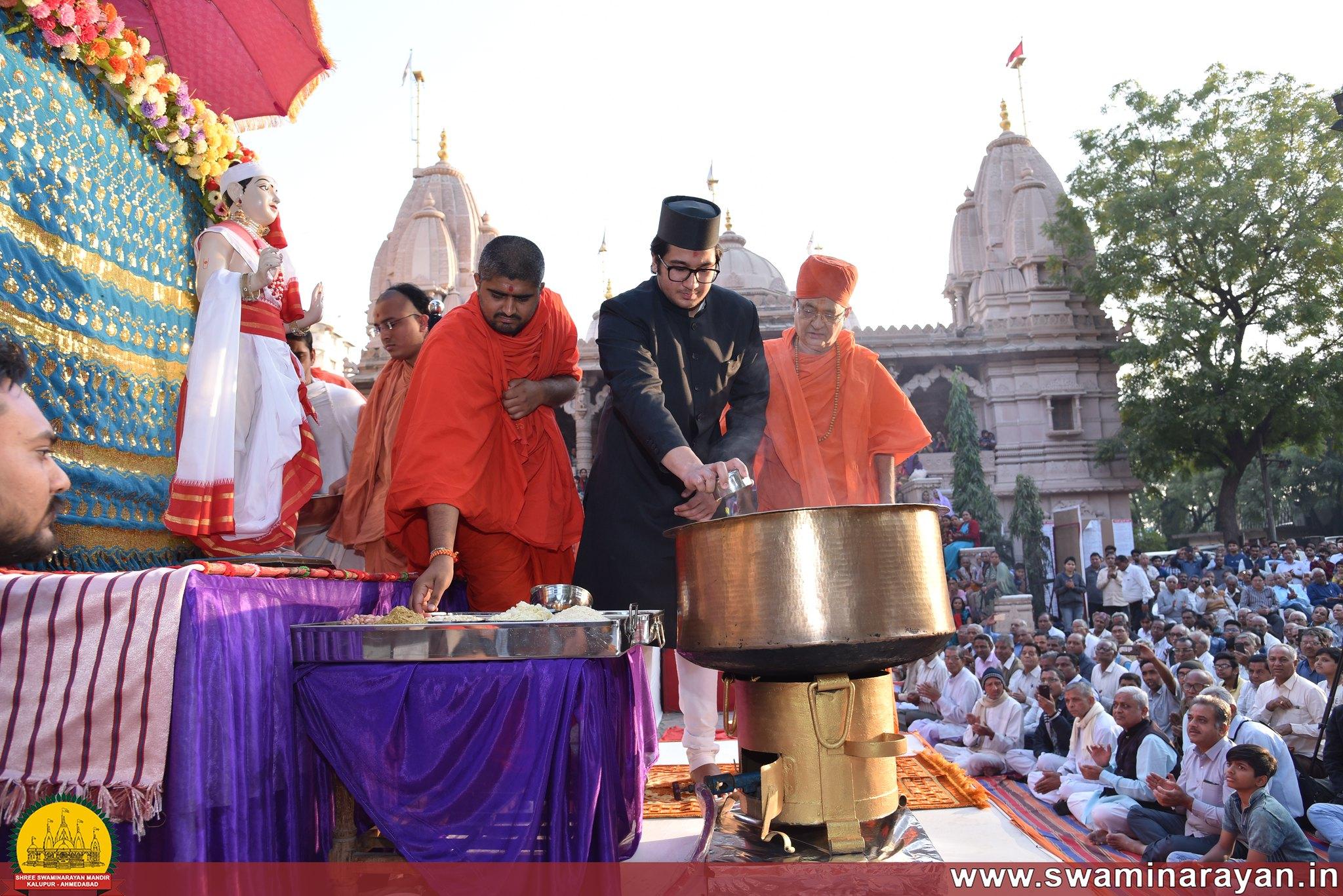 Shakotsav - Narayanghat Mandir