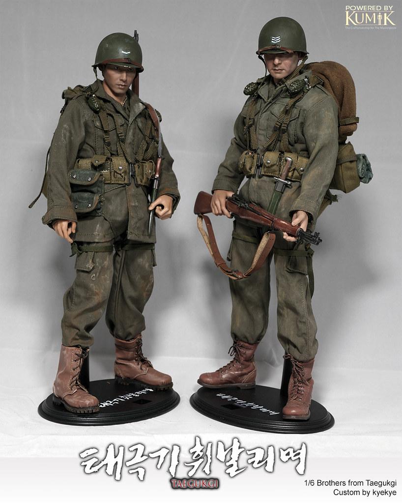 1/6 Scale 2 Brothers from Korean War movie 'Tae Guk Gi: The Brotherhood of War' 45917710434_b2d2ccc324_b