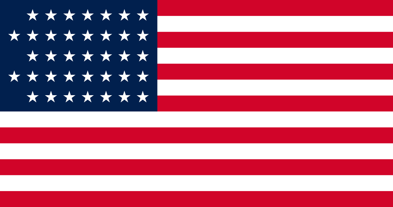 Flag of the United States, 1876-1877