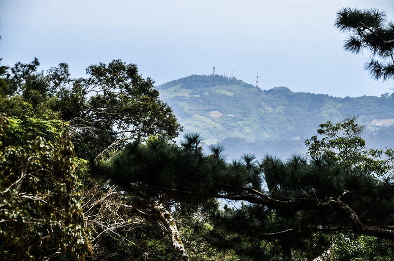 登見晴山途中(H 890 m)東眺西川山