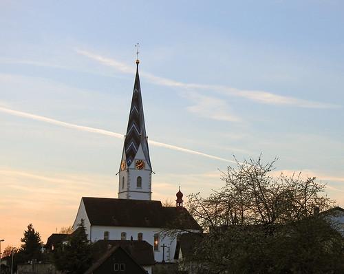 Pfarrkirche St. Mauritius in Pfeffikon, Kanton Luzern
