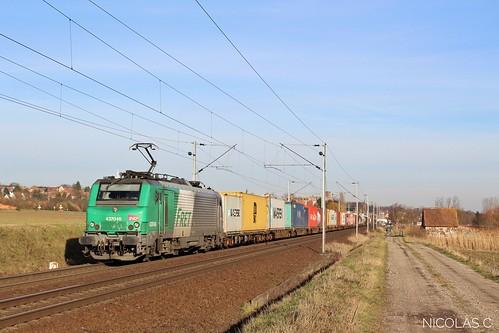 BB(4)37046 - MA100 - Train n°47908 Bâle-Saint-Jean > Mont-Saint-Martin