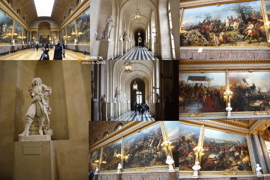 2020法國巴黎近郊 凡爾賽宮/後花園/鏡廳 華麗的宮殿世界遺產 @Gina Lin