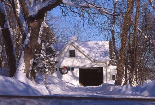 Snow on a Wreath