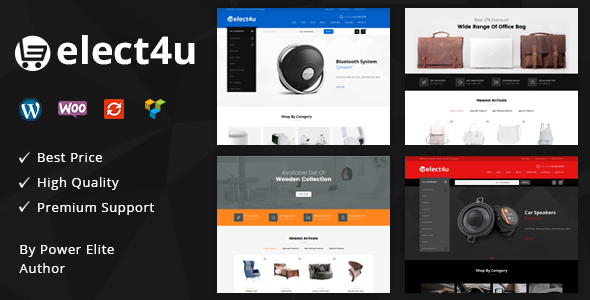 Elect4u v1.0 - Multipurpose WooCommerce Theme