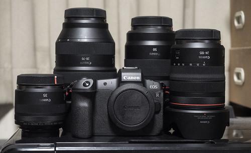 RF Lens all & EOS R