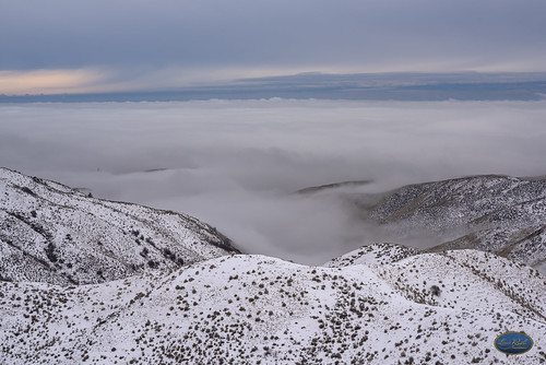 landscape sky clouds weather inversion sea snow mountain boiseidaho christmas2018 view soft white wildweather artofimages elements perspective whispy dreamy boiseidahoweather boisewinter winterpics flickrwinter2018