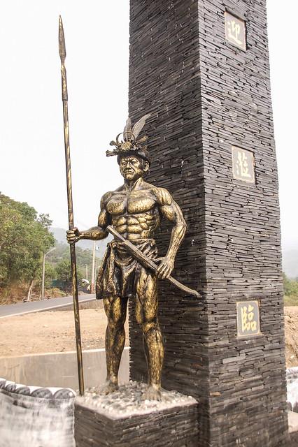 文樂社區塑像.