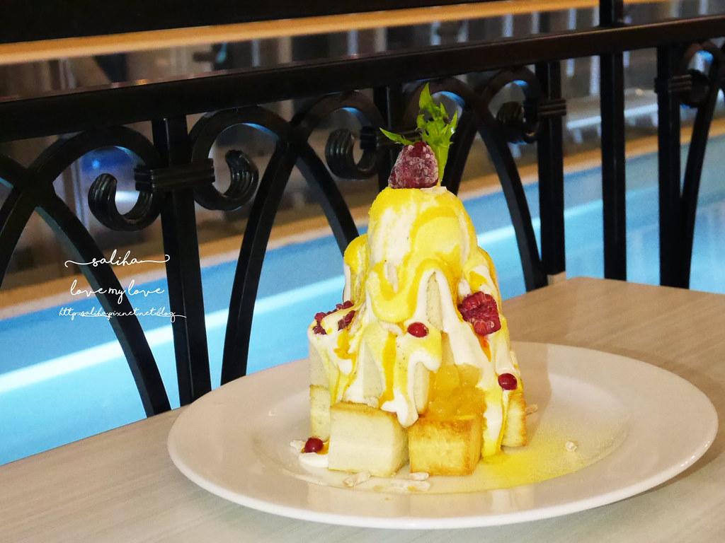 新北市政府板橋站附近大遠百跳舞香水餐廳好吃下午茶早午餐甜點 (2)