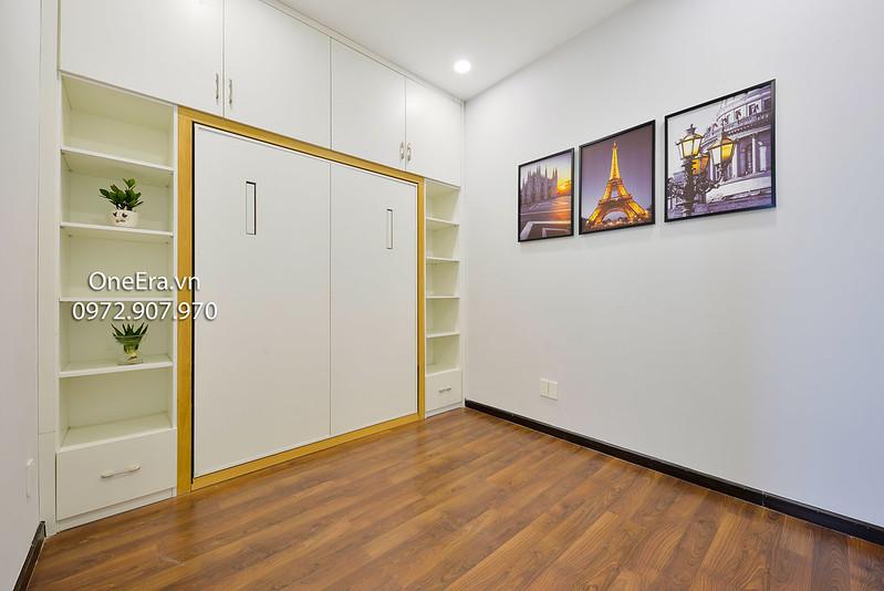 Phòng nhỏ có thể là phòng ngủ hoặc phòng làm việc, hoặc phòng của bé