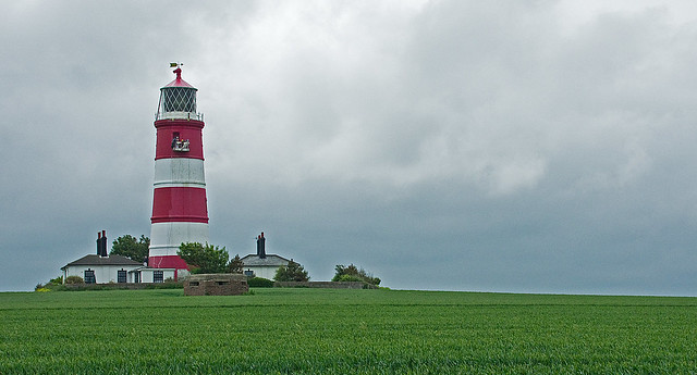 Painting the Lighthouse at Happisburgh