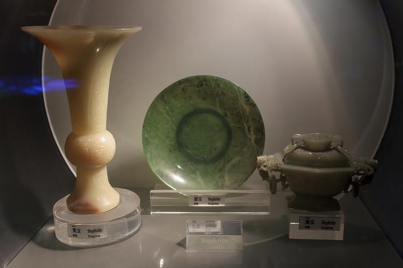 Изделия из разновидностей нефрита