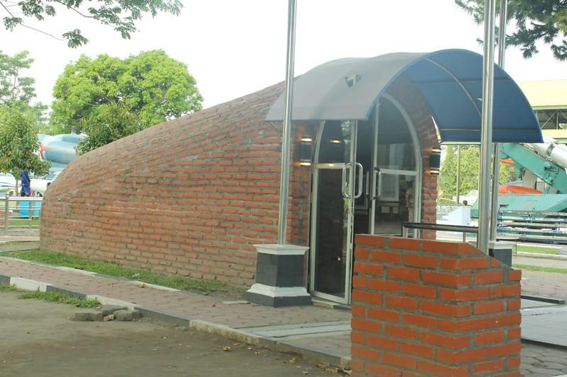 Museum TNI AU: Bawah Tanah