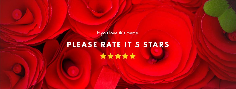 rate this theme 5 stars - Leo Smitten Jewelry Store Prestashop theme