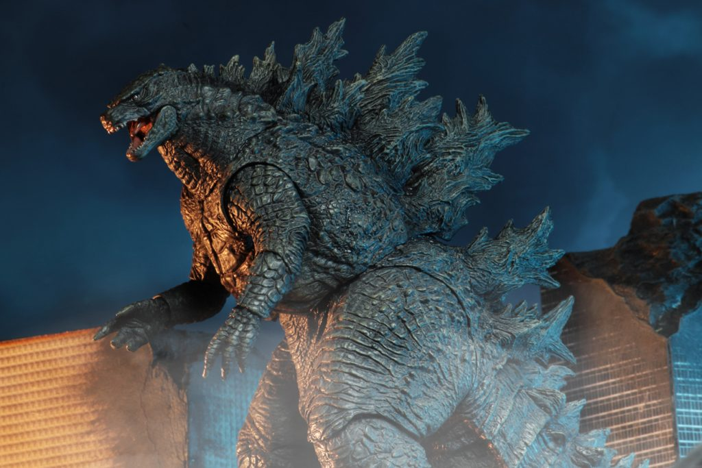 霸氣的怪獸之王駕到!! NECA《哥吉拉II:怪獸之王》哥吉拉 (2019)、哥吉拉V2 (2019)  Godzilla (2019)、Godzilla V2 (2019)  6 吋可動作品