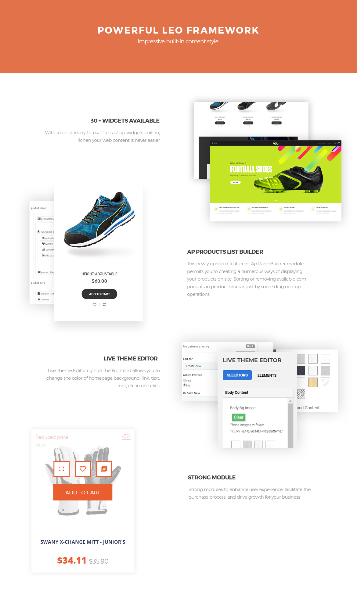 leo framework-Bos Idu Prestashop theme-Shoes, Handwatch, Fashion Store