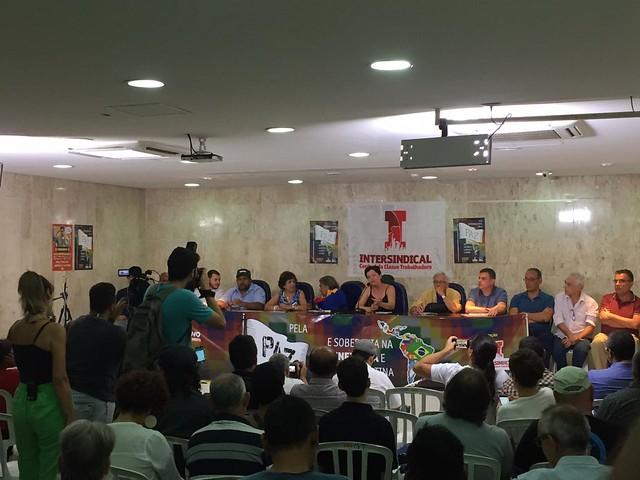 Em ato pela paz, entidades de 15 países prestam solidariedade ao povo venezuelano