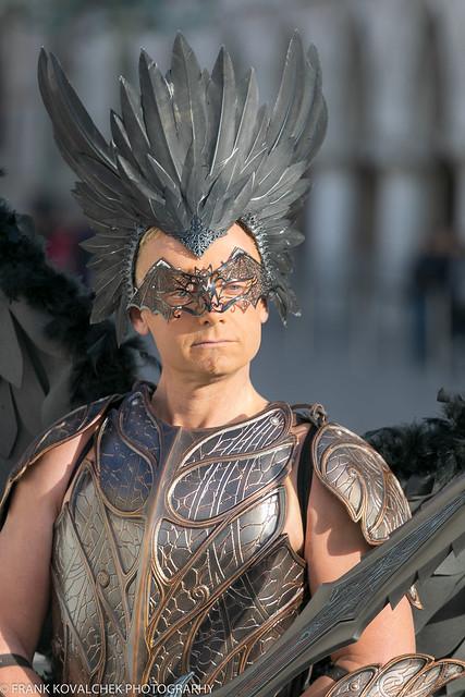 Model(s) at the 2019 Carnevale di Venezia - 1st Sunday