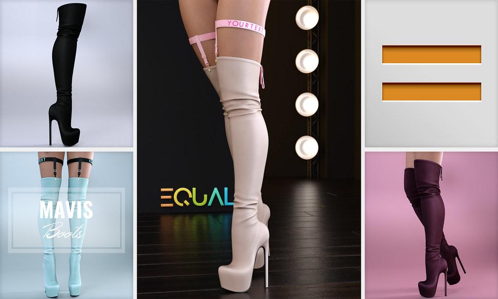 EQUAL – Mavis Boots