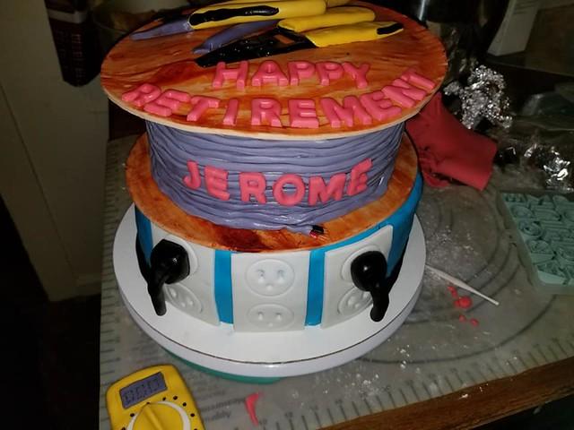 Cake by Jacki's Cakes