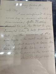 1868-12-26 Longacre Last Letter