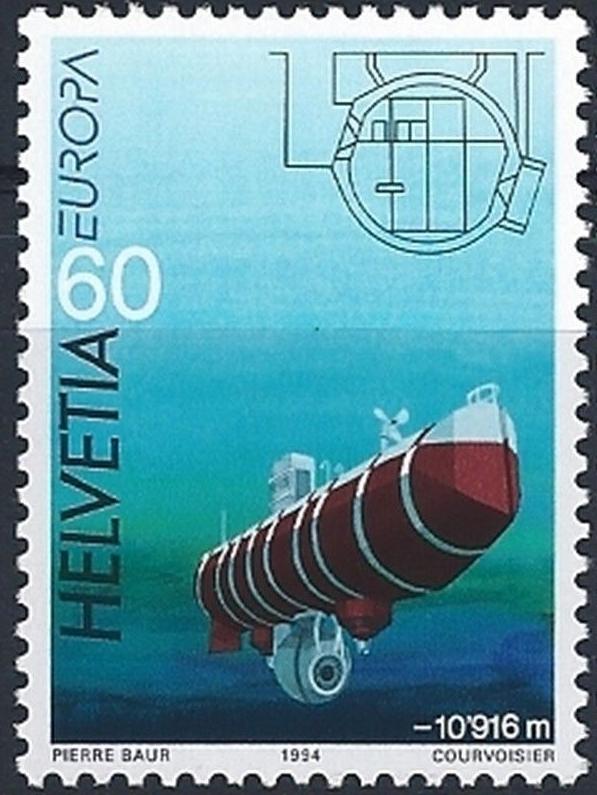 Switzerland - Scott #946 (1994)