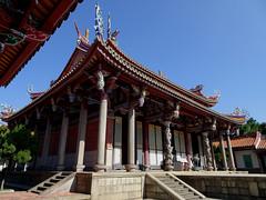 Taipei Confucius Temple rooflines
