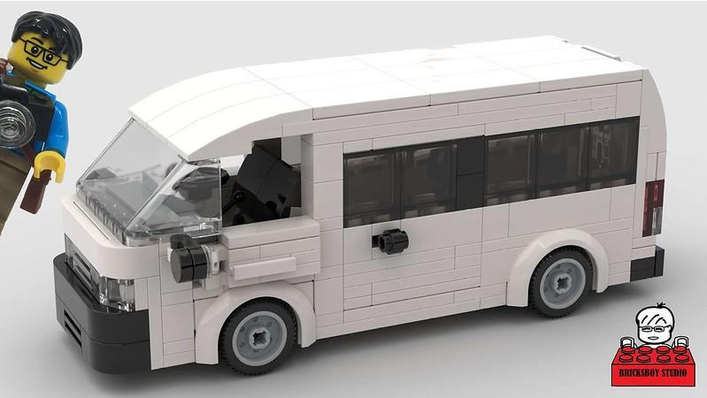 MOC Toyota HiAce Van