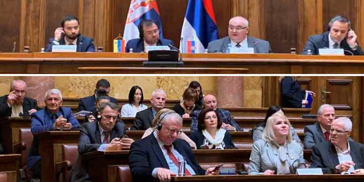 Respaldo a Venezuela en parlamento de Serbia