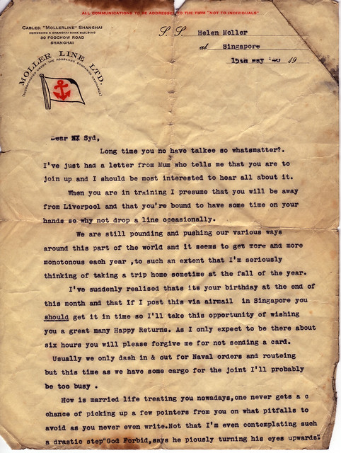 Fred's Letters