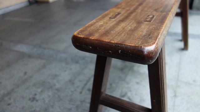 木椅相當有年歲