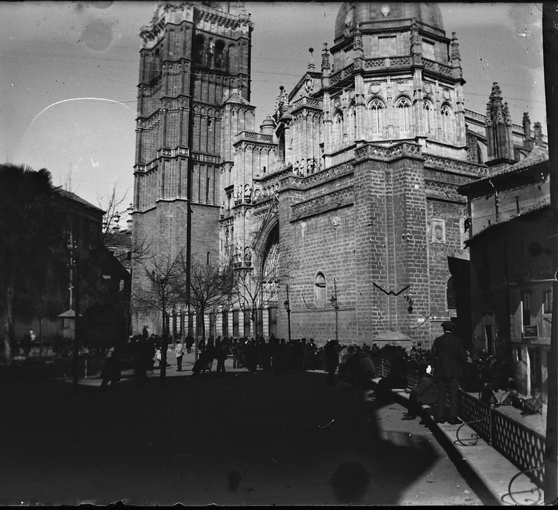 Catedral de Toledo el 24 de febrero de 1918. Fotografía de Carles Batlle Ensesa © Ajuntament de Girona. CRDI (Carles Batlle Ensesa)
