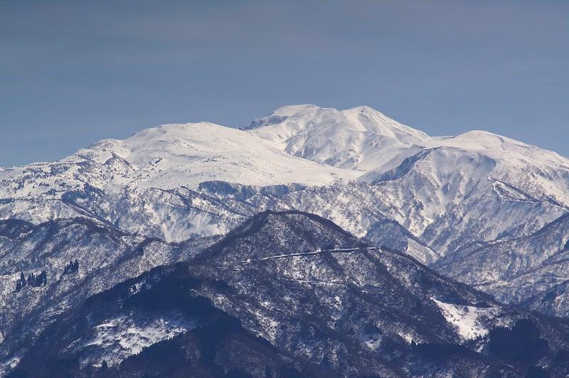 Mt. HAKUSAN from MYOUJINKABE Rock